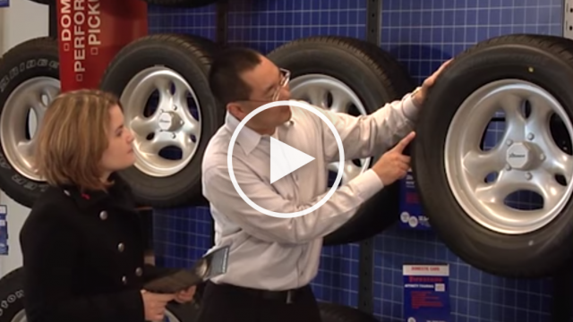 Tire Safety Starts With Selection